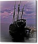 Notorious The Pirate Ship 5 Canvas Print