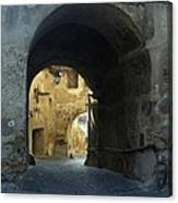 Old town  gate 2 Canvas Print