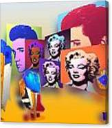 Pop Art Pop Up Canvas Print