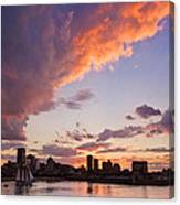 Port Of Montreal Canvas Print