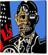 President Barack-obama Full Color Canvas Print
