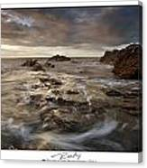 Rocky - At Trearddur Bay Canvas Print