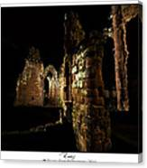 Ruins Canvas Print