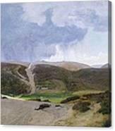 Scandinavian Landscape  Canvas Print