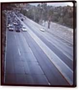 🚙🚗🚕 Stopped Due To An Accident Canvas Print