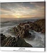 Subtle Sunset Canvas Print