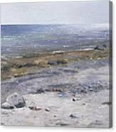 The Beach Mols Canvas Print