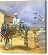 The Pelican Pantry Canvas Print