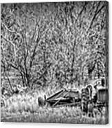 Tractor Days Canvas Print