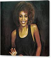 Whitney Elizabeth Houston Canvas Print