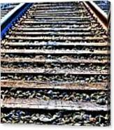 0004 Train Tracks  Canvas Print