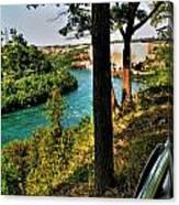 001 Niagara Gorge Trail Series  Canvas Print