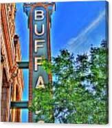 001 Sheas Buffalo Canvas Print