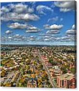 0010  Autumn Days Of Buffalo Ny Birds Eye Canvas Print