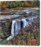 0016 Letchworth State Park Series  Canvas Print