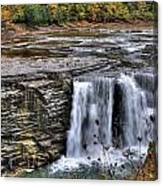 0017 Letchworth State Park Series  Canvas Print