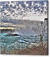 0018 View Of Horseshoe Falls From Terrapin Point Series Canvas Print