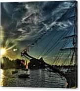 002 Uss Niagara 1813 Series  Canvas Print