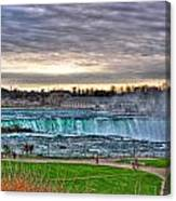 002 View Of Horseshoe Falls From Terrapin Point Series Canvas Print