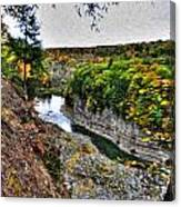 0023 Letchworth State Park Series Canvas Print