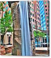 003 Fountain Plaza  Canvas Print