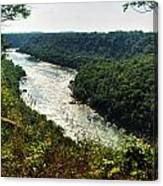 003 Niagara Gorge Trail Series  Canvas Print
