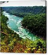 004 Niagara Gorge Trail Series  Canvas Print
