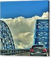 005 Grand Island Bridge Series  Canvas Print