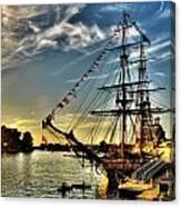 005 Uss Niagara 1813 Series  Canvas Print
