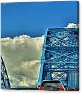 006 Grand Island Bridge Series Canvas Print