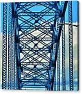 007 Grand Island Bridge Series  Canvas Print