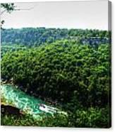 007 Niagara Gorge Trail Series  Canvas Print
