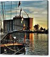 007 Uss Niagara 1813 Series Canvas Print