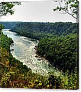 009 Niagara Gorge Trail Series  Canvas Print
