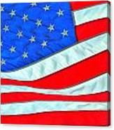 01 American Flag Canvas Print
