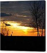01 Sunset Canvas Print