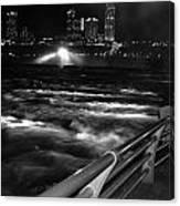 012 Niagara Falls Usa Rapids Series Canvas Print