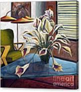 01254 Mid-century Modern Canvas Print
