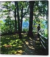 012a Niagara Gorge Trail Series  Canvas Print