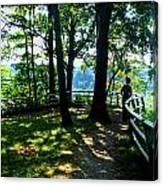 012b Niagara Gorge Trail Series  Canvas Print