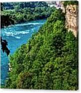 014 Niagara Gorge Trail Series  Canvas Print