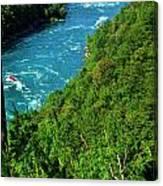 017 Niagara Gorge Trail Series  Canvas Print