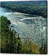 018 Niagara Gorge Trail Series  Canvas Print