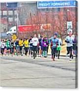 018 Shamrock Run Series Canvas Print