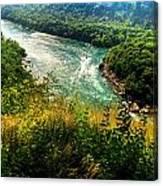019 Niagara Gorge Trail Series  Canvas Print