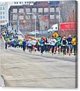019 Shamrock Run Series Canvas Print