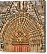 02 Church Doors Canvas Print
