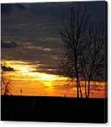02 Sunset Canvas Print