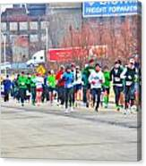 020 Shamrock Run Series Canvas Print