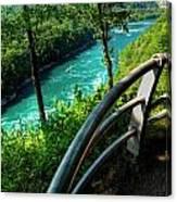 021 Niagara Gorge Trail Series  Canvas Print